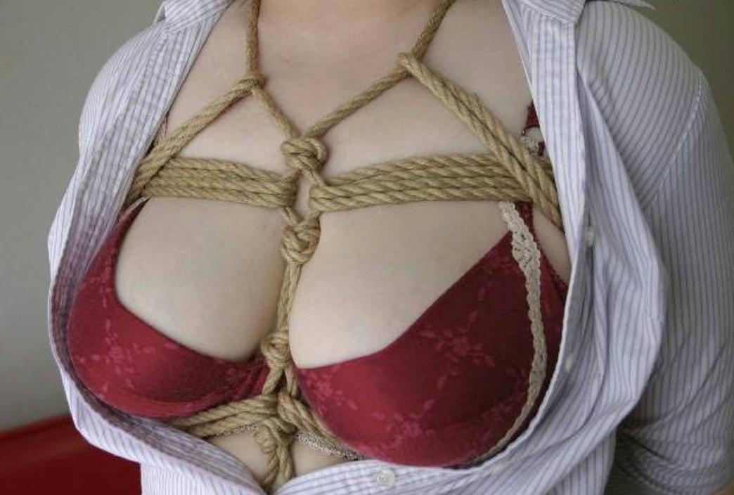 【SMエロ画像】ムッチリ成分多い程にそそる…緊縛放置されたM女の図www 02