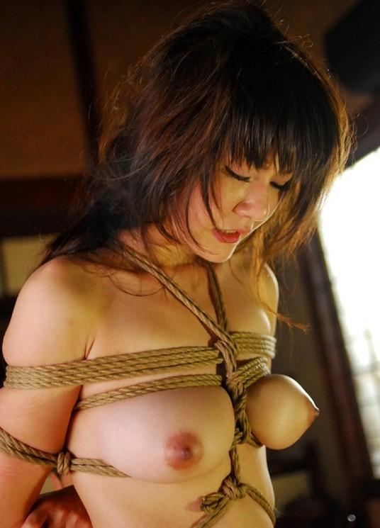【SMエロ画像】ムッチリ成分多い程にそそる…緊縛放置されたM女の図www 14