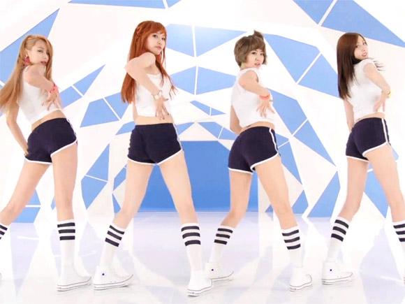 【GIF】K-POPアイドルの腰振りダンスがエロ過ぎwww【画像】