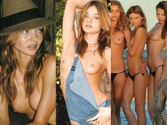 【モデル】CMでもお馴染みミランダ・カーが普通に乳首出してヌード写真出しまくりだった…画像×10