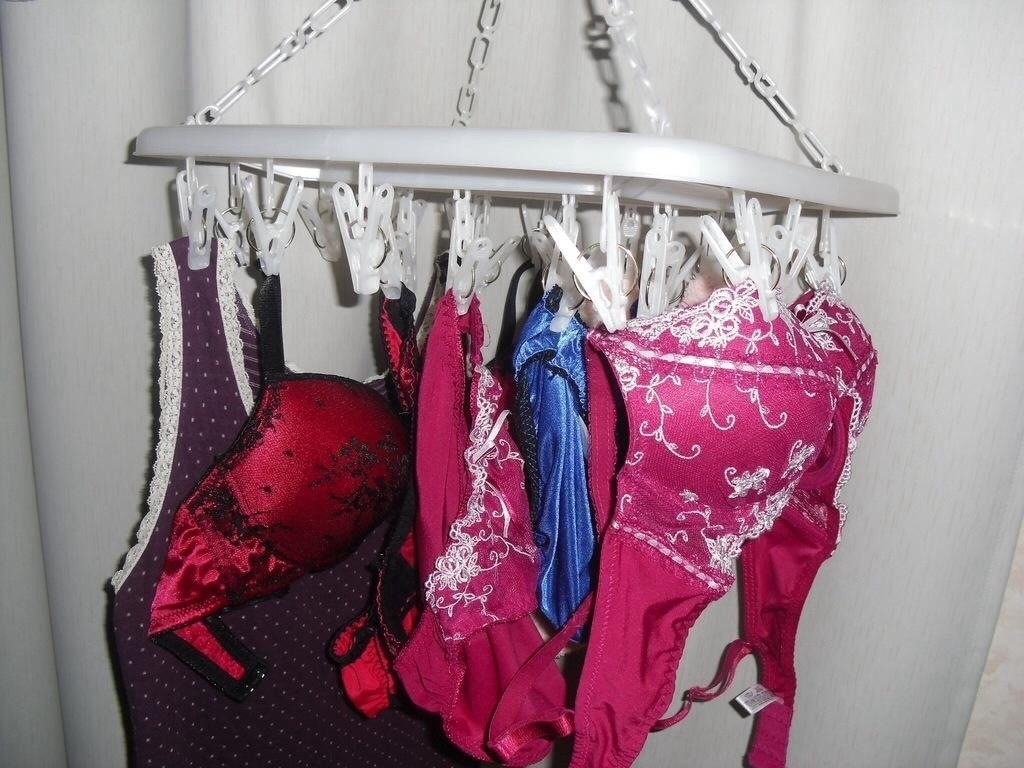 【下着フェチエロ画像】一体どんな人がコレを…持ち主が気になる洗濯後の下着www 06