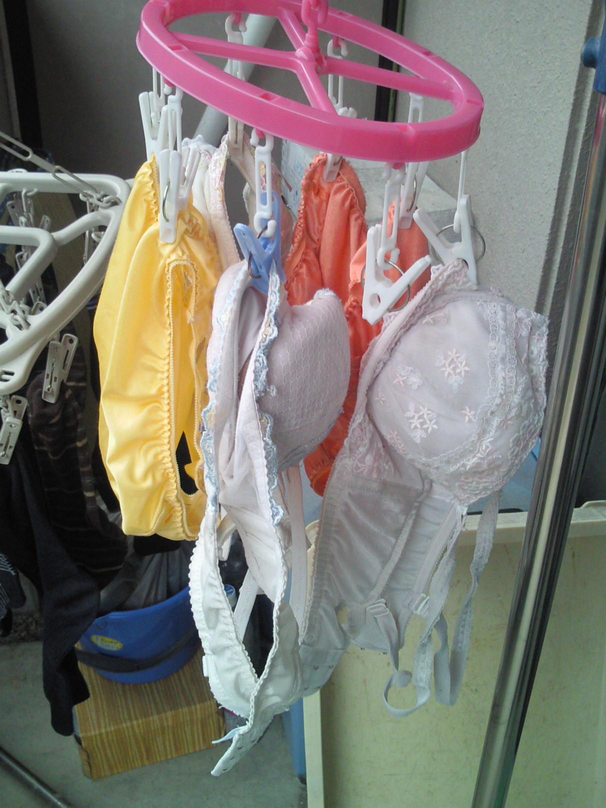 【下着フェチエロ画像】一体どんな人がコレを…持ち主が気になる洗濯後の下着www 18