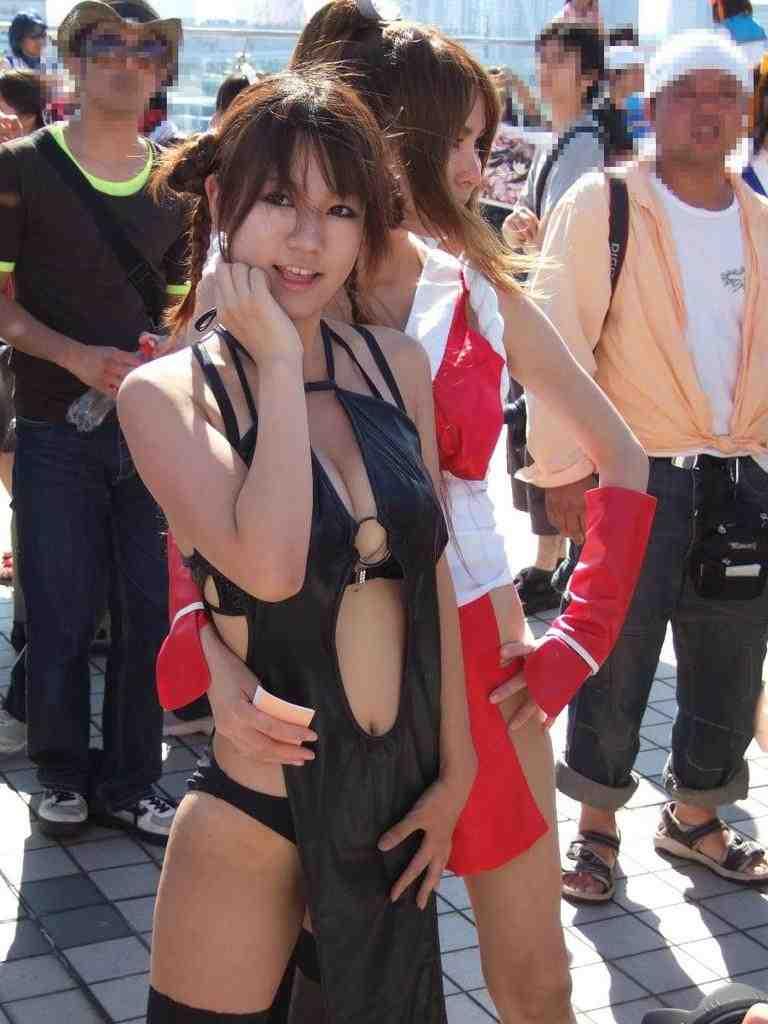 【コスプレエロ画像】コスるならケアは絶対!美脚でこそ引き立つセクシーレイヤー達www 08
