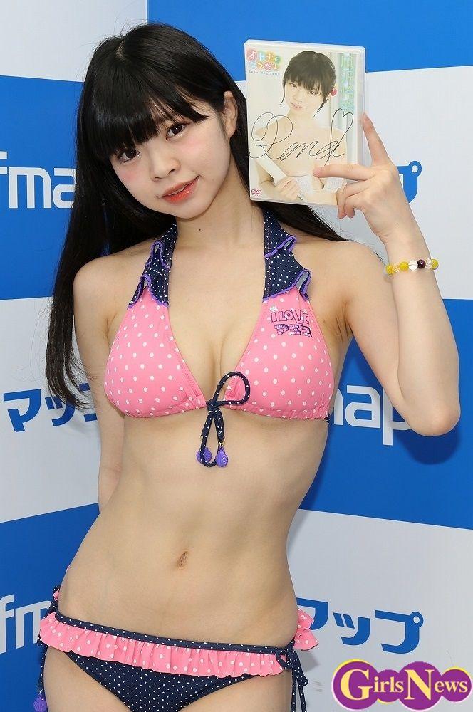 声優でグラドルの凪沢怜奈がスリムFカップ乳でエロいのう