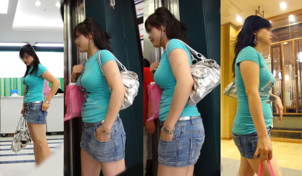 【巨乳エロ画像】本当のサイズは考えてる以上w去るまで見続けたい着衣巨乳www 29