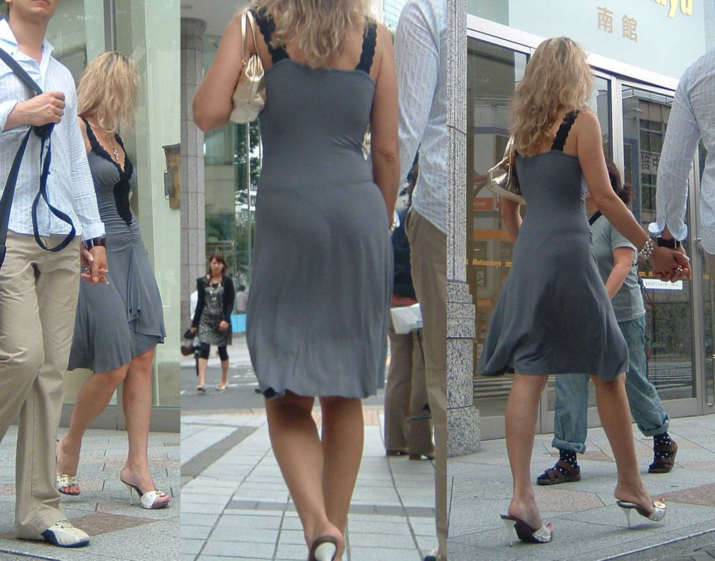 【透けパンエロ画像】誰も教えてくれないまま恥…着衣なのに下着丸見えな淑女たちwww 24