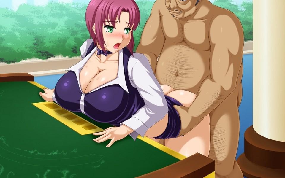 【二次エロ画像】このねちっこさが快感だとかw中年オヤジと美少女の生々しい行為www 07