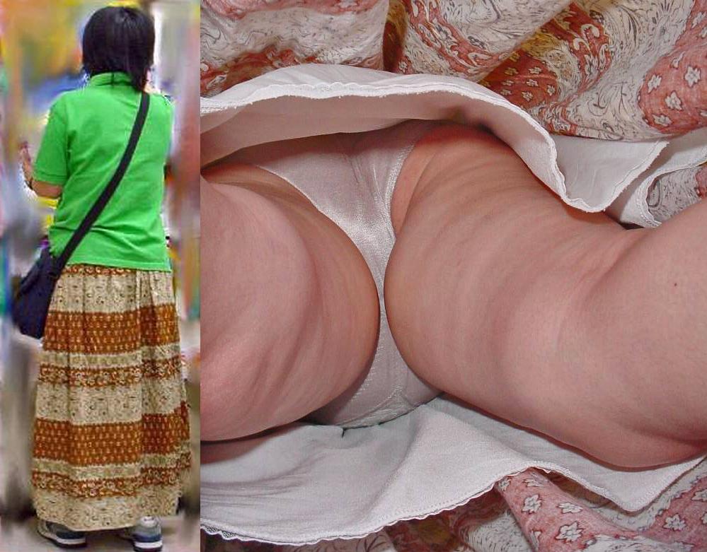 【パンチラエロ画像】香り漂いそうなスカートの中…生々しい生パン逆さ撮りwww 21
