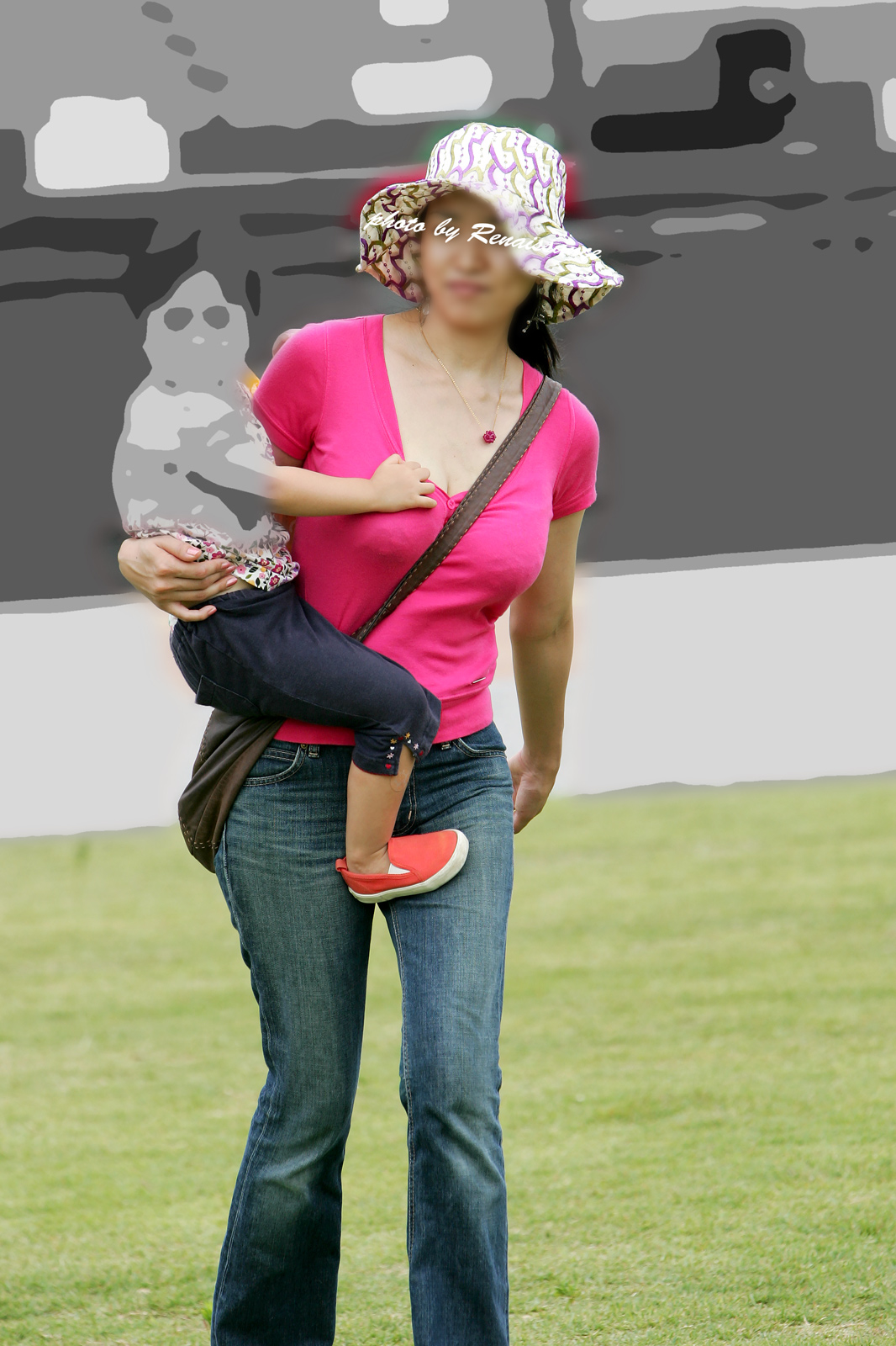 【パイスラエロ画像】これが真の大きさとは限らない…脱がせる前に圧倒されるパイスラ着胸www 27