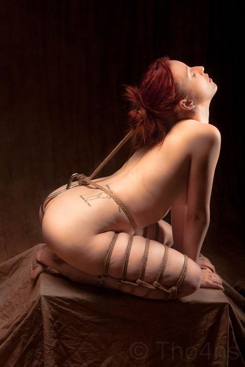 【SMエロ画像】調教で明かす聖夜も乙w性なるM女たちの緊縛姿と恥部www 26
