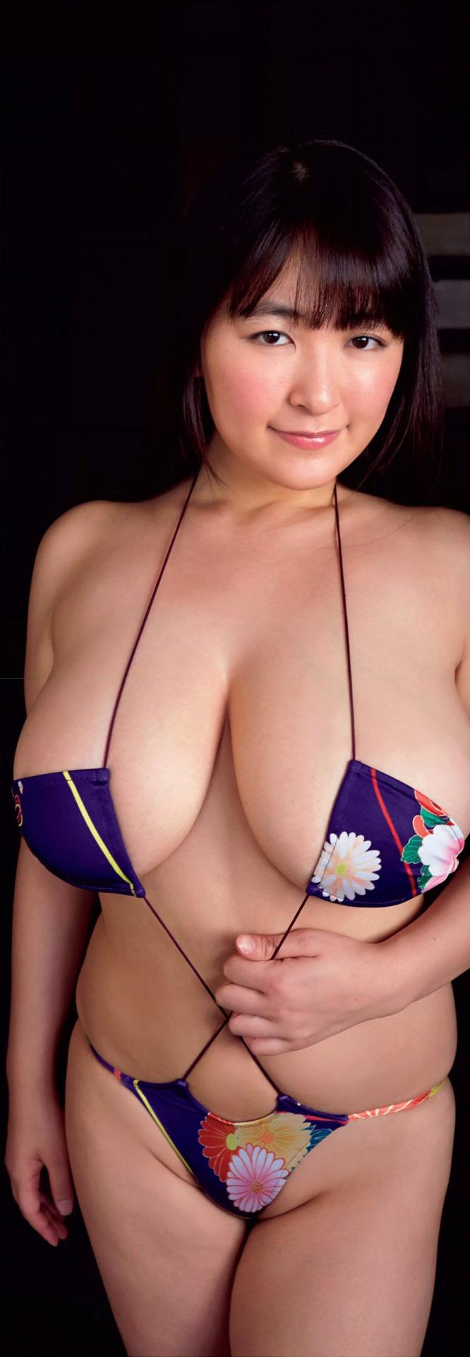 【巨乳エロ画像】なんてけしからん…Iカップ超えてるかもな柳瀬早紀ちゃんのおっぱいwww 03