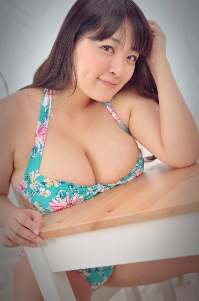 【巨乳エロ画像】なんてけしからん…Iカップ超えてるかもな柳瀬早紀ちゃんのおっぱいwww 17