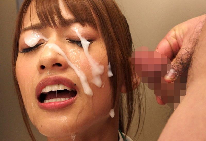 【ぶっかけエロ画像】AV女優でも仕事以外は嫌らしいw汚汁べっとり大量顔射www 07