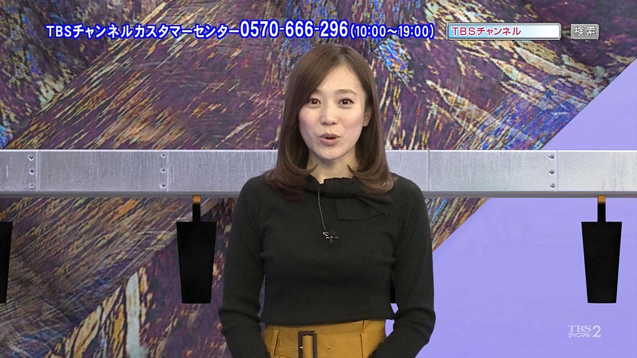 江藤愛アナのおっぱいデカッ
