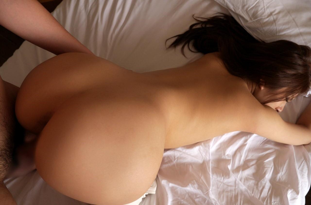 【セックスエロ画像】腰とお尻のサイズ差デカいほど興奮w相性もわかるバック性交www 05