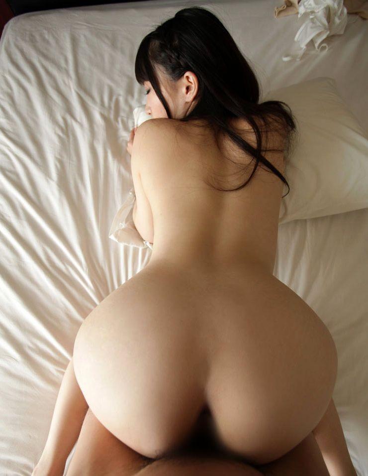 【セックスエロ画像】腰とお尻のサイズ差デカいほど興奮w相性もわかるバック性交www 09
