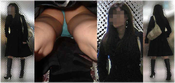 【パンチラエロ画像】ハミ毛どうにかした方が…まだ履きこなしが甘いTバック女子の逆さ撮りwww 27