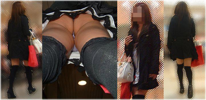 【パンチラエロ画像】ハミ毛どうにかした方が…まだ履きこなしが甘いTバック女子の逆さ撮りwww 28