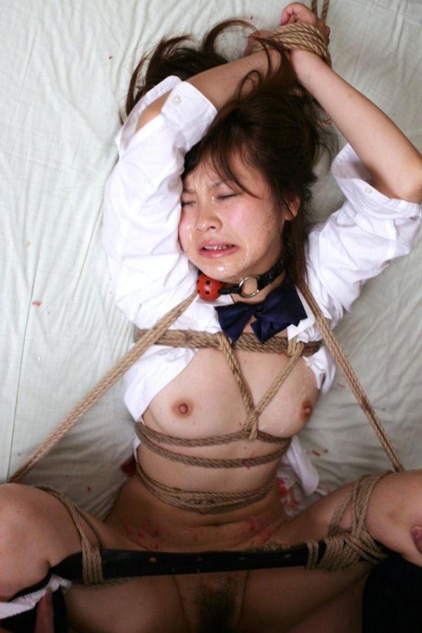 【SMエロ画像】一応は和姦w緊縛M女をねちっこく嬲るようにセックスwww 17