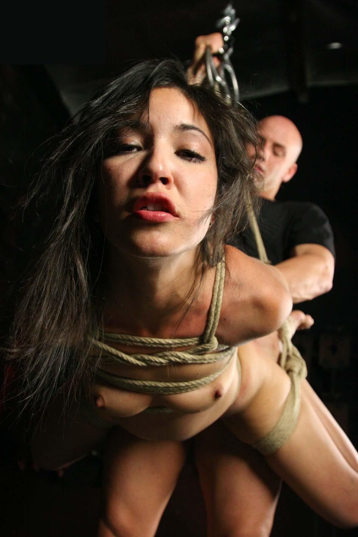 【SMエロ画像】一応は和姦w緊縛M女をねちっこく嬲るようにセックスwww 26