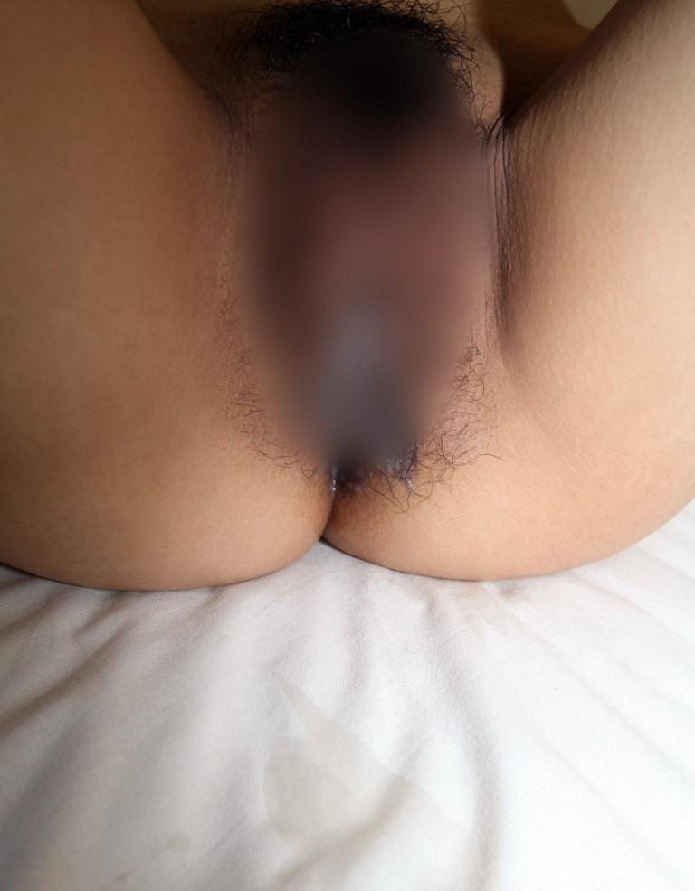 【事後エロ画像】いっぱい出過ぎたw膣口から流れる精液見ながら賢者タイムwww 19