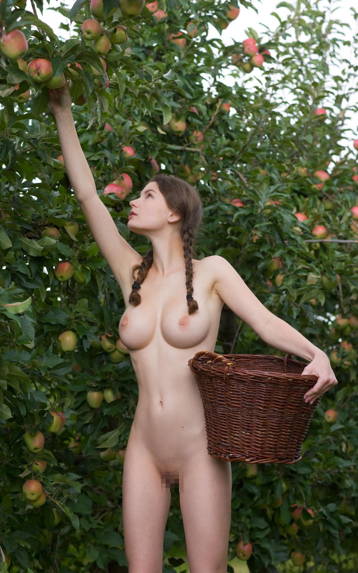 【海外エロ画像】巨乳で細身が当たり前!レベル高すぎ碧眼の裸女たちwww 27