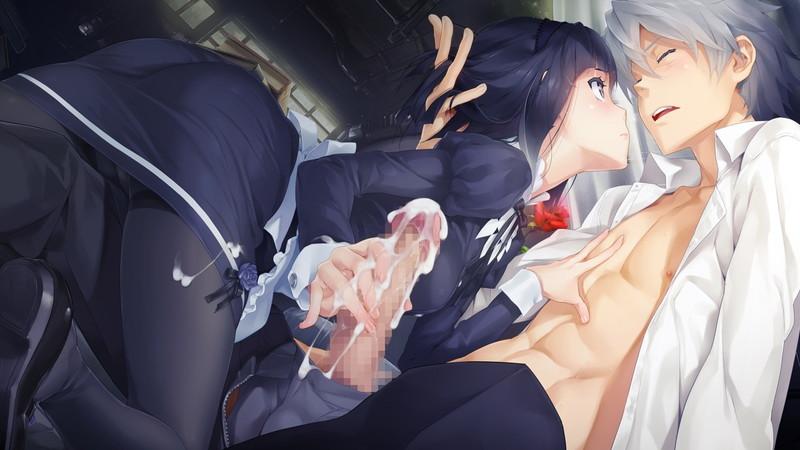 【二次エロ画像】やっぱり授乳とセットが人気w癒しの手コキご奉仕www 21
