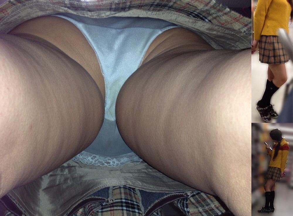 【パンチラエロ画像】女に陰毛は不要じゃね?と考えちゃうハミ毛チラ激写www 14