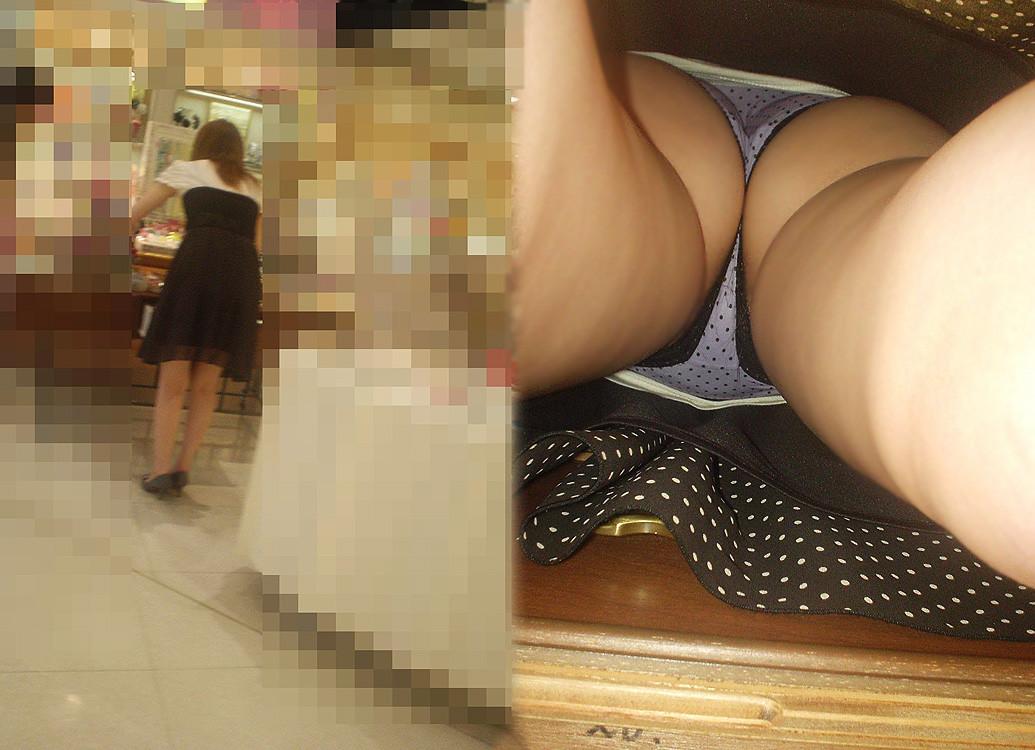 【パンチラエロ画像】女に陰毛は不要じゃね?と考えちゃうハミ毛チラ激写www 17