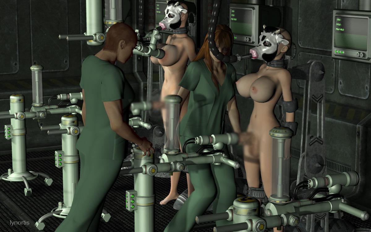 【二次エロ画像】この技術は無駄!?3Dでふたなり娘を性的調教www 02