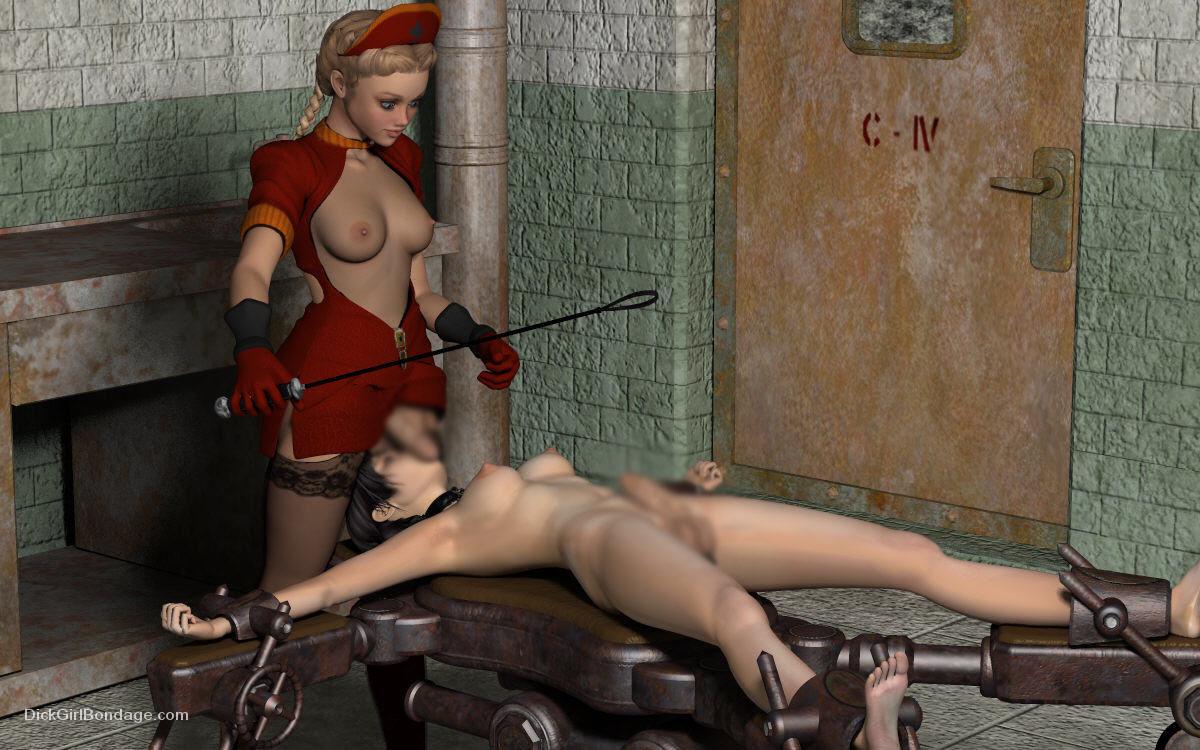 【二次エロ画像】この技術は無駄!?3Dでふたなり娘を性的調教www 12