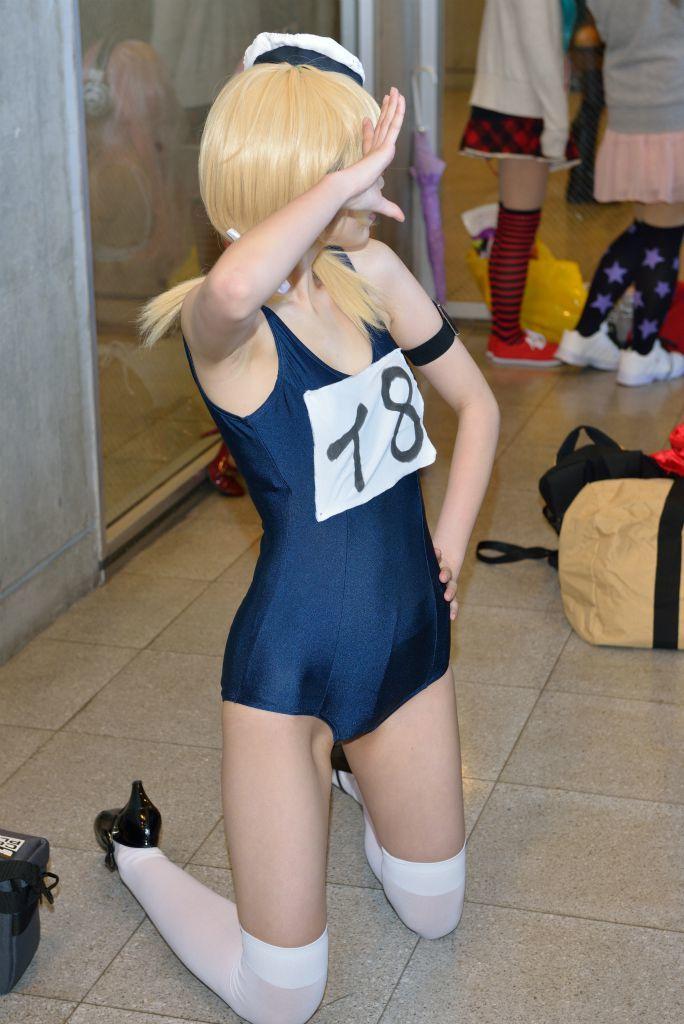 【コスプレエロ画像】どんな味か知りたいwコスプレイヤーの綺麗な腋下www 14