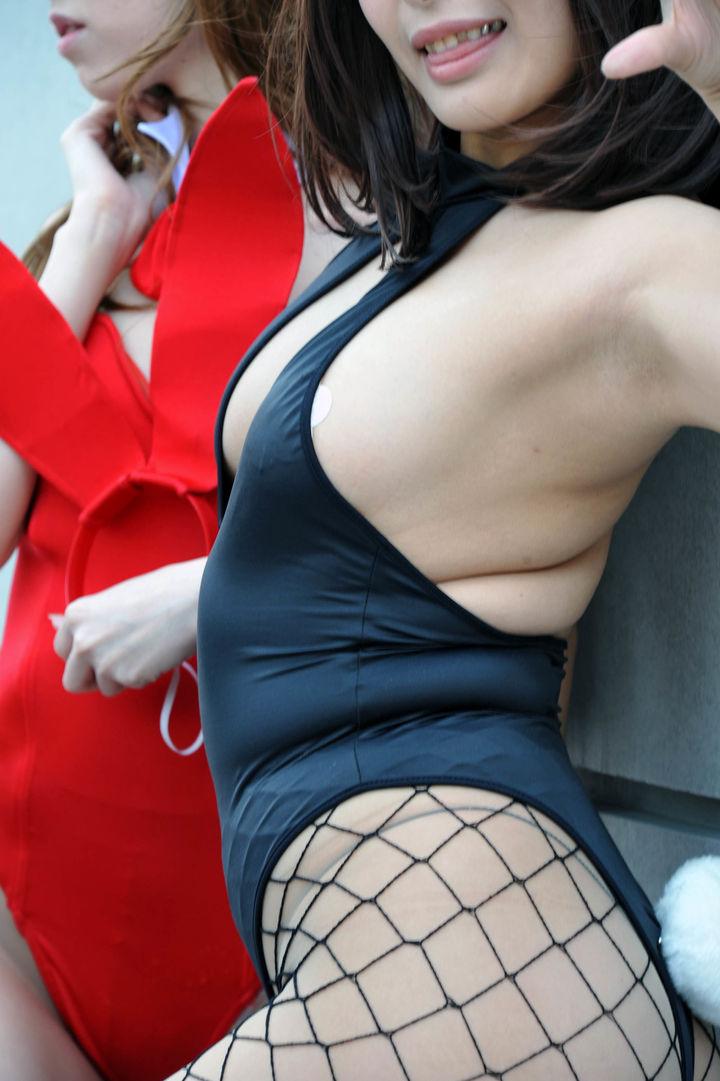 【コスプレエロ画像】伊達に肉体管理してませんw発育よろしいレイヤー達の巨乳www 08