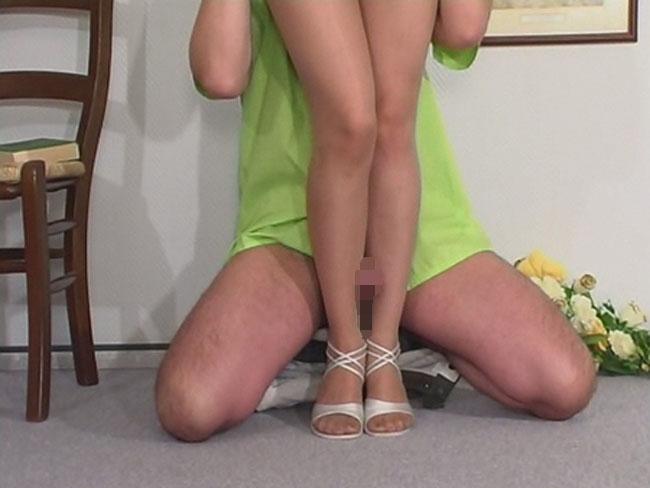 【脚コキエロ画像】挟む範囲が広いから有用wむっちり美脚でコキ責めwww 04