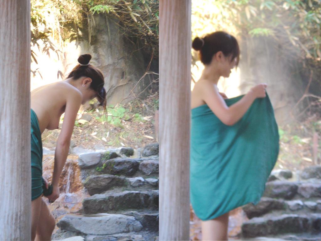 【女子風呂エロ画像】同性の仕業だから可能…生々しい女風呂を内部から暴く! 29