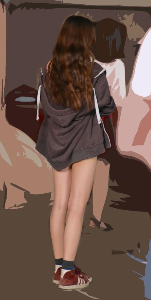 【美脚エロ画像】その美脚だけで惚れる!目撃したらもう夢中な街の下半身www 02