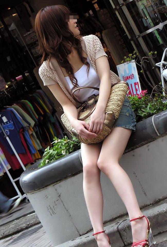 【美脚エロ画像】その美脚だけで惚れる!目撃したらもう夢中な街の下半身www 14
