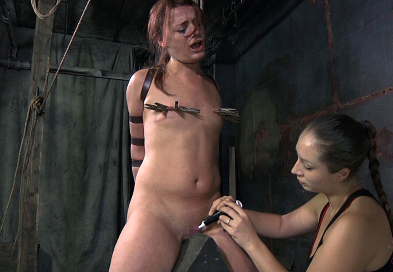【SMエロ画像】鋭利な背中に乗って絶叫するM女たちの三角木馬拷問www 08