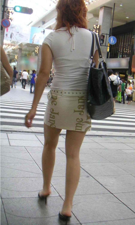 【美脚エロ画像】体の約半分をタダ見せしてくれると思うと萌える街角美脚www 23