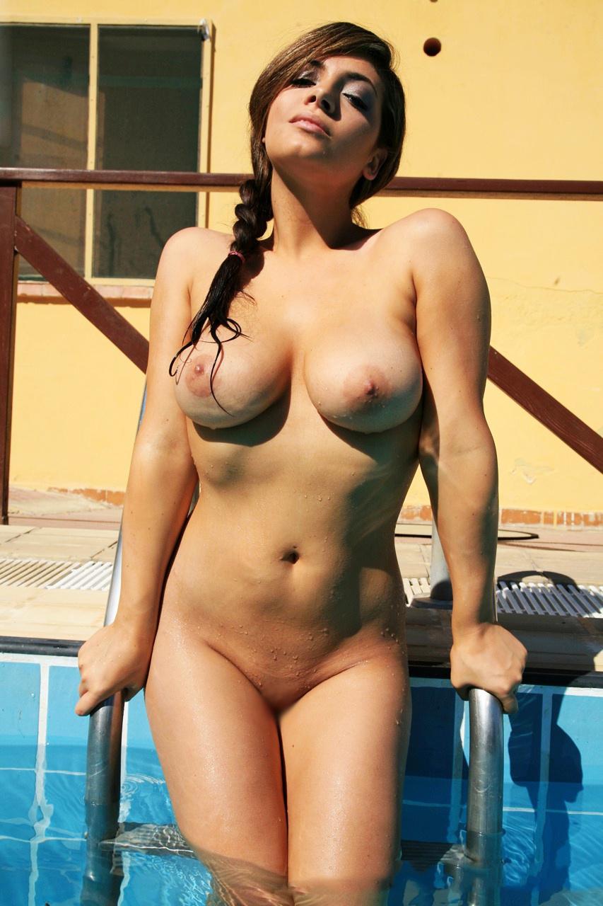 【パイパンエロ画像】やっぱり女には頭部以外の体毛は不要w美麗パイパンボディwww 19