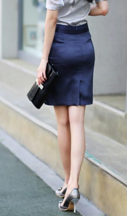 【着尻エロ画像】セクハラとの縁はなかなか切れない働く女性のタイト尻www 01