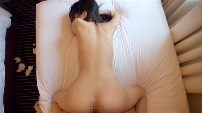 【素人エロ画像】黒髪清楚系のFカップ美女は実は100人切りのヤリマンビッチw 18
