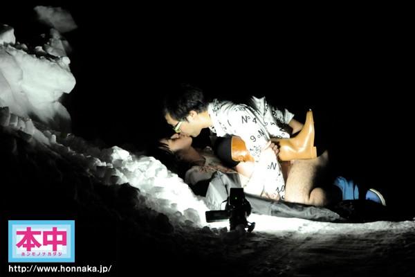 【-40度でSEX画像】極寒地で検証wwまず冷凍庫に精子入れて確認すべきwww 001