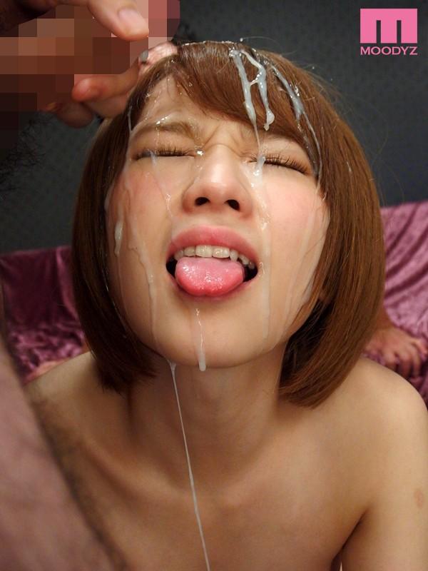 【総発射数70発!!】大洪水ばりの精子をぶっかけられ「顔が重い」ってwww 10